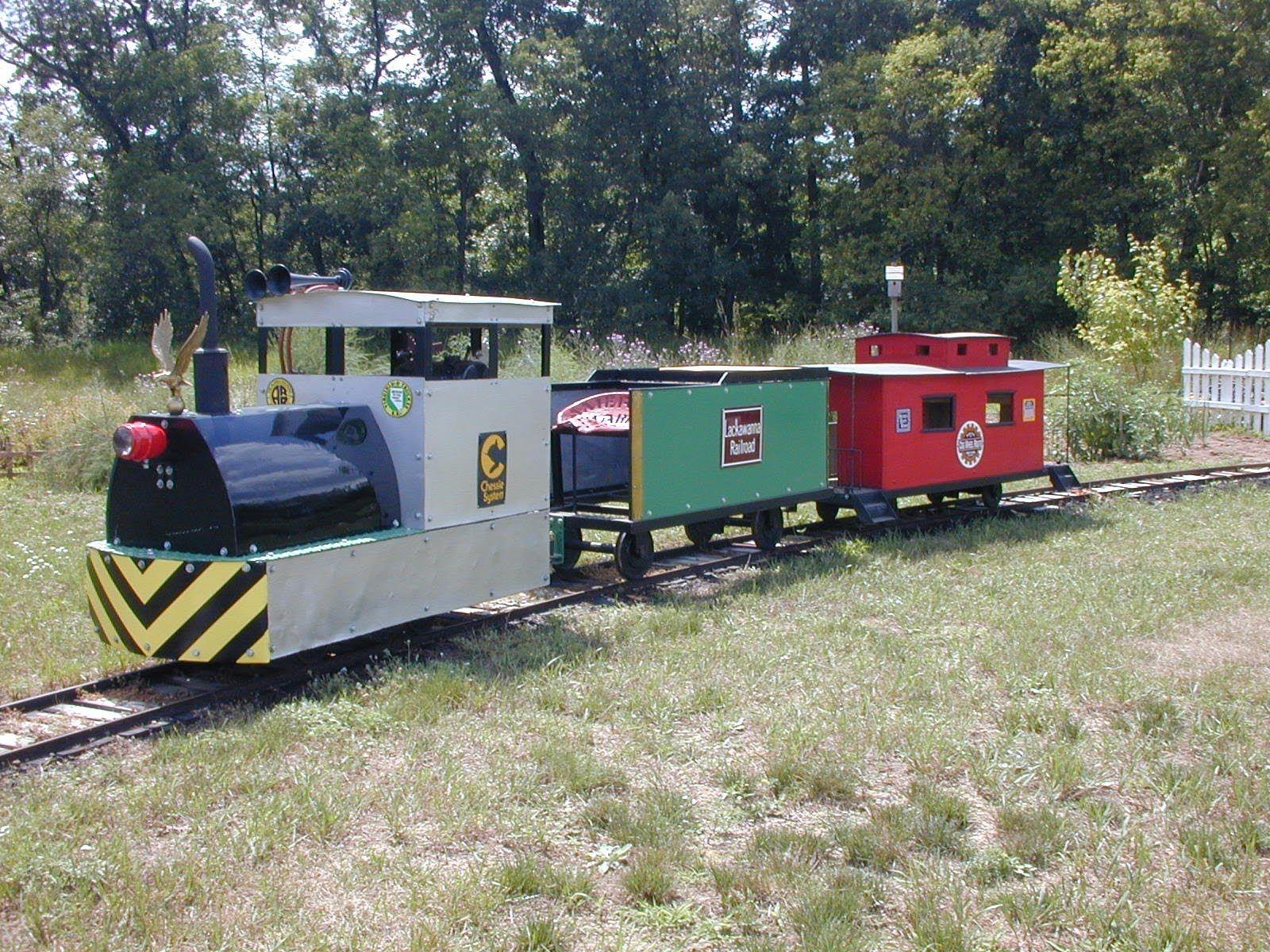 Backyard Railroad Hydraulic Locomotive Build Tips | Ride ...