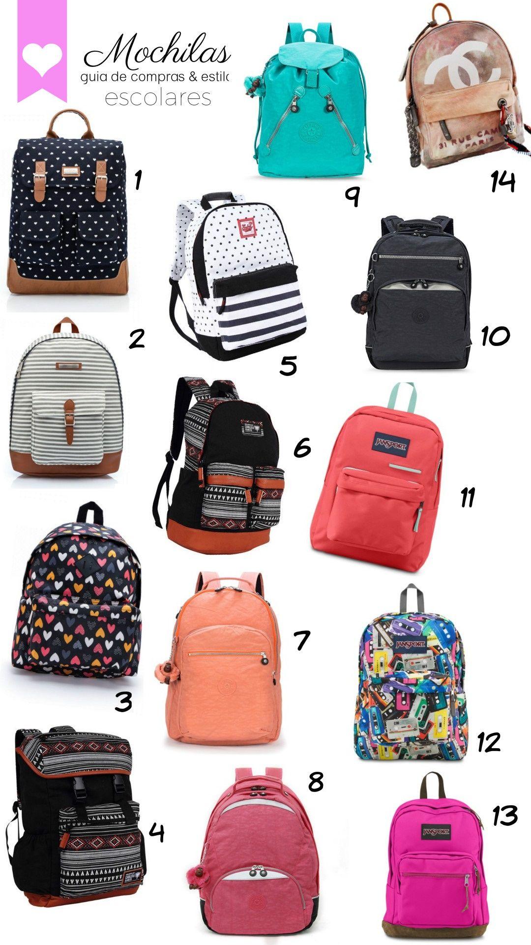 3a16e9804ad00 Comprar mochilas não é uma tarefa simples. Vários itens devem ser levados  em conta, principalmente se tratando de bolsas femininas, em que carregamos  uma ...