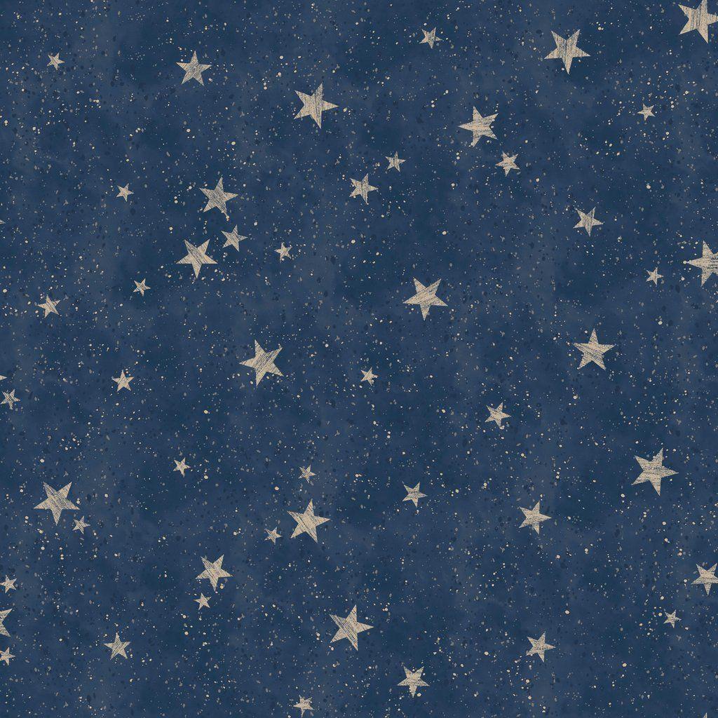 Cwv Crown Wallpaper Starlight Stars Navy Blue M1490 Blue And Gold Wallpaper Gold Metallic Wallpaper Blue Wallpaper Iphone