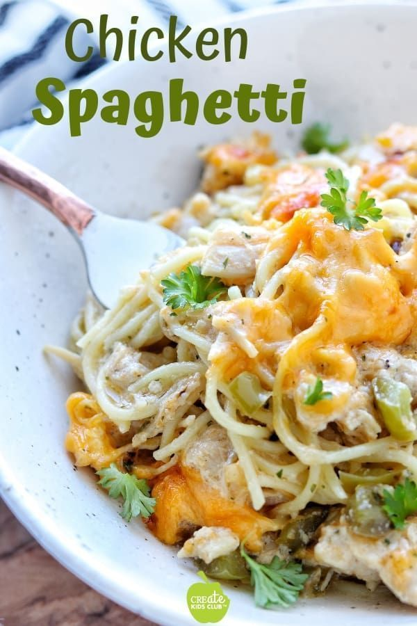 An easy, healthy chicken pasta recipe that's a creamy ...