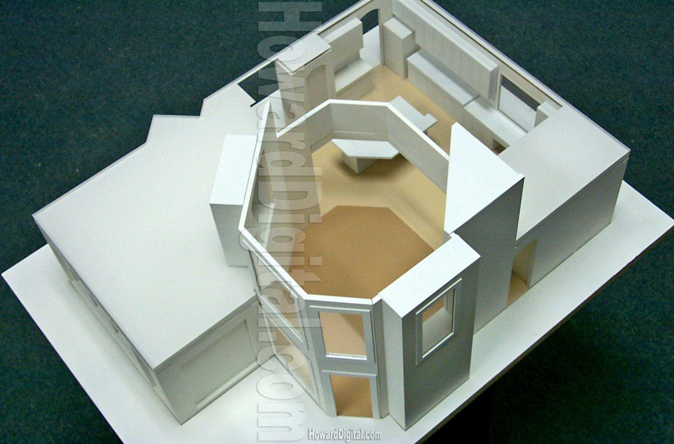 Interior house model House interior