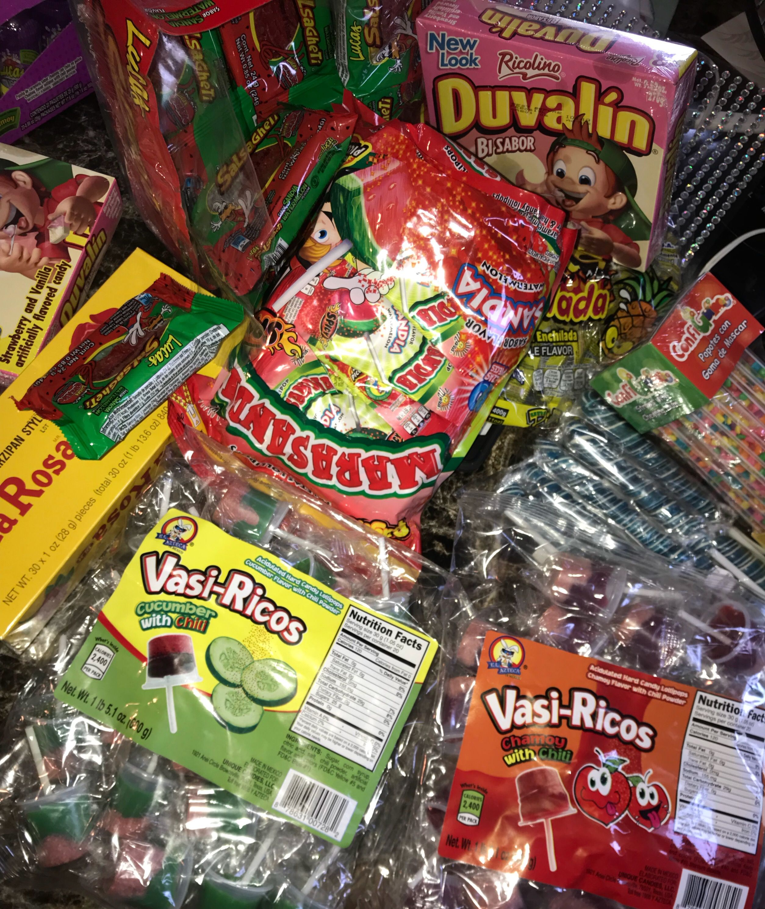 Mexican Cans For Candy Bags With