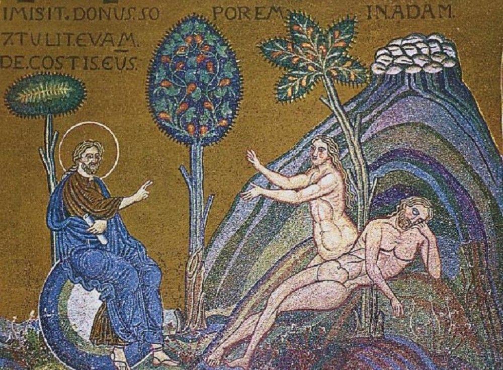 Creation Of Eve Genesis Creation And Flood Adam Eve Adam