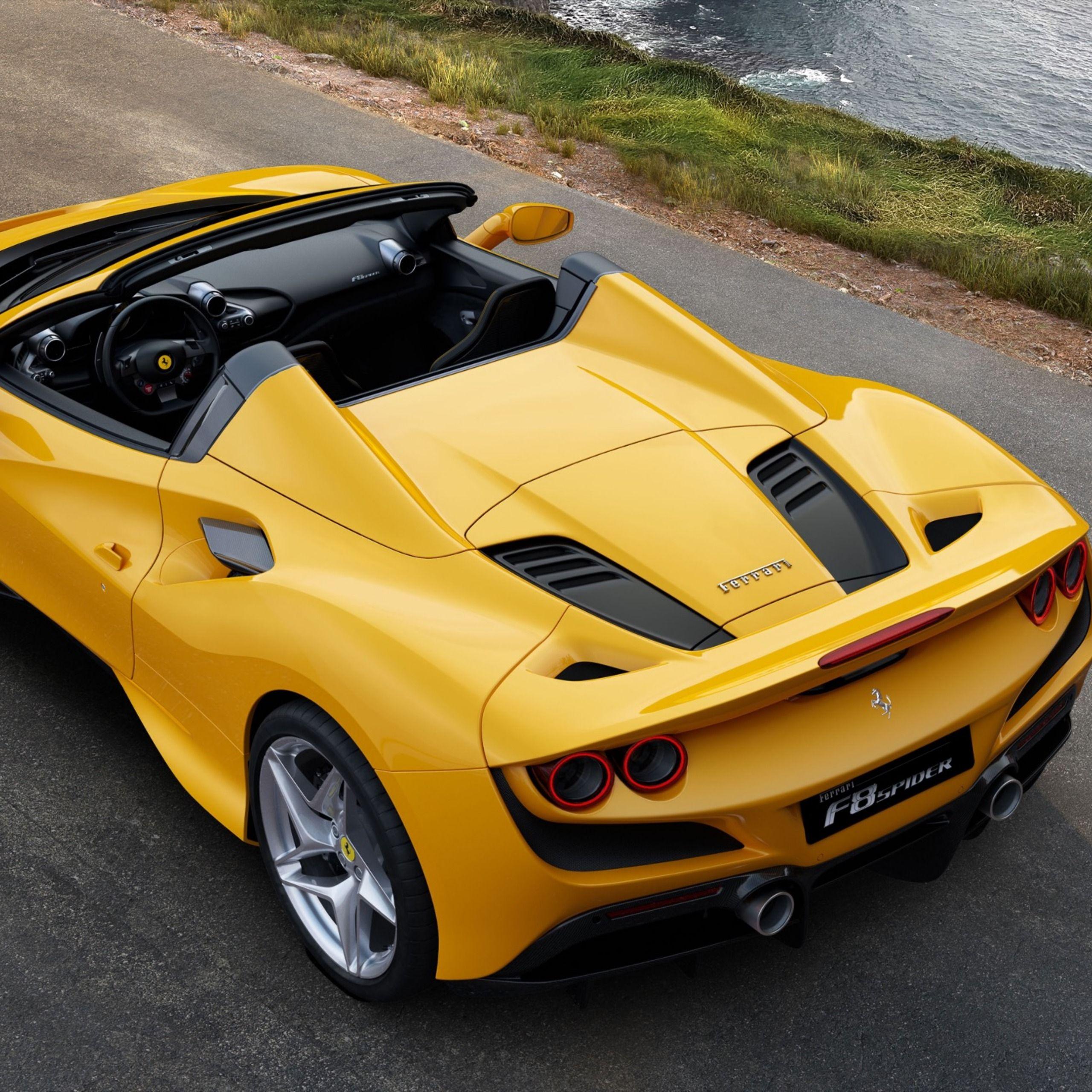 2020 Ferrari F8 Spider Revealed For Frankfurt Motor Show In 2020 New Ferrari Top Sports Cars Super Cars