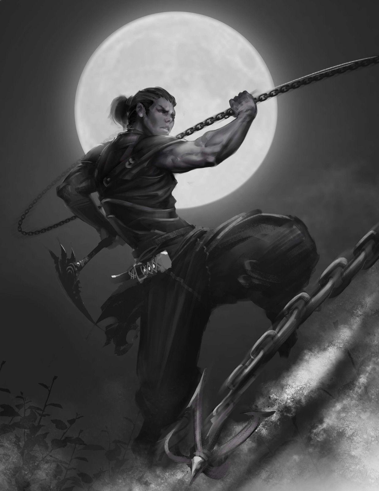 Hattori Hanzo by Phillip Fry | Ninjas | Pinterest