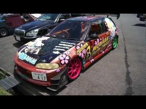 DRIFT D1 Honda Civic lolol - YouTube