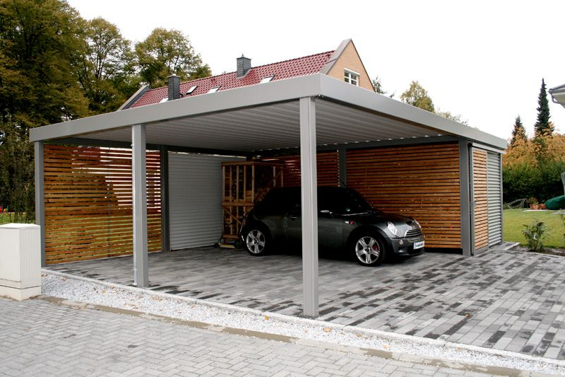 garagen carports oder garagen individuelle carport. Black Bedroom Furniture Sets. Home Design Ideas
