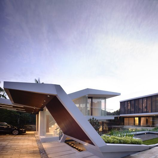 Andrew road residence by a d lab in singapore the for Accesos arquitectura