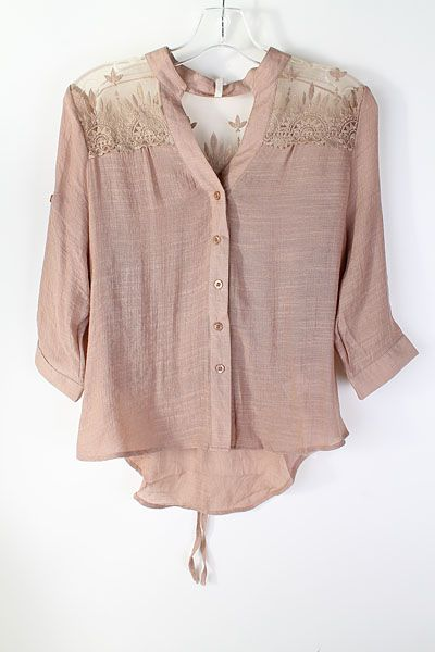 1d0ba98dac991 preciosa blusa rosa palo. Ropa De Chicas