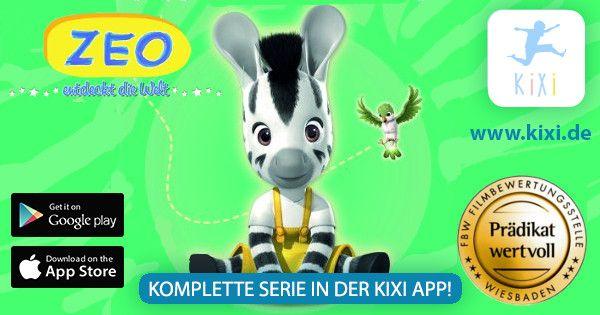 Die KIXIApp Die neue App für Kinderfilme, Kinderserien