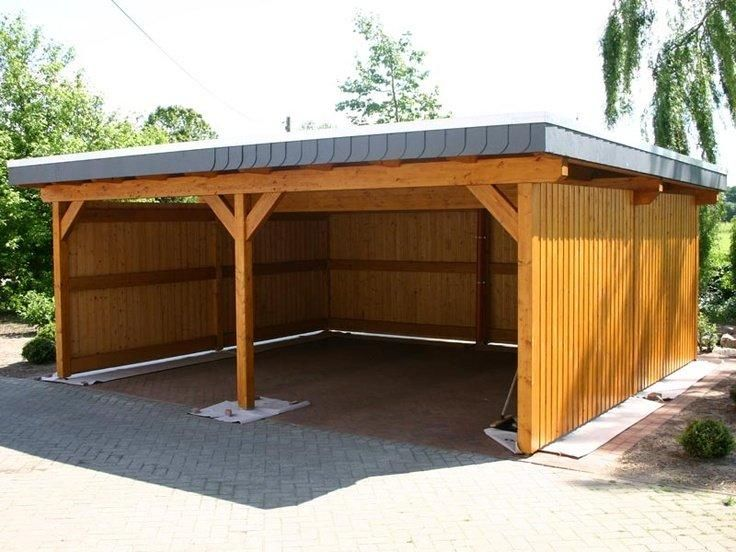 How to build a lean to carport Car ports, Outdoor storage and Storage