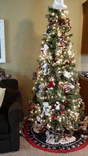 Boyd Bear Christmas Tree Boyds Bears Christmas Christmas Decorations Christmas Tree