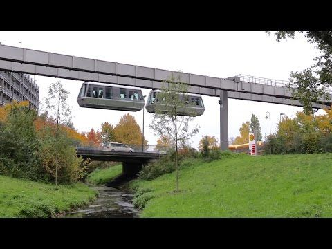 Düsseldorf International Airport HBahn SkyTrain Monorail