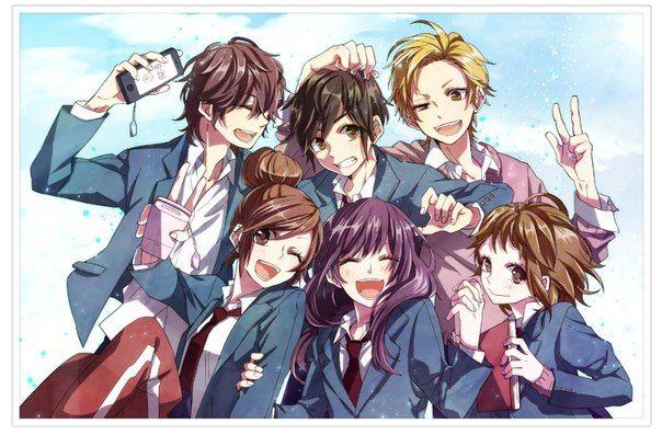 Honeyworks Friend Anime Anime Best Friends Anime Films