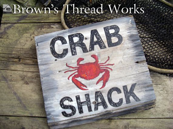"4 RED CRAB SHRIMP SHELLFISH 5.5/"" TALL METAL WALL HOOK beach ocean nautical decor"