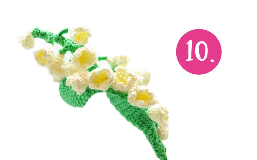 Spring Bouquet: Crochet Along! | Maiglöckchen, Häkelanleitung und ...