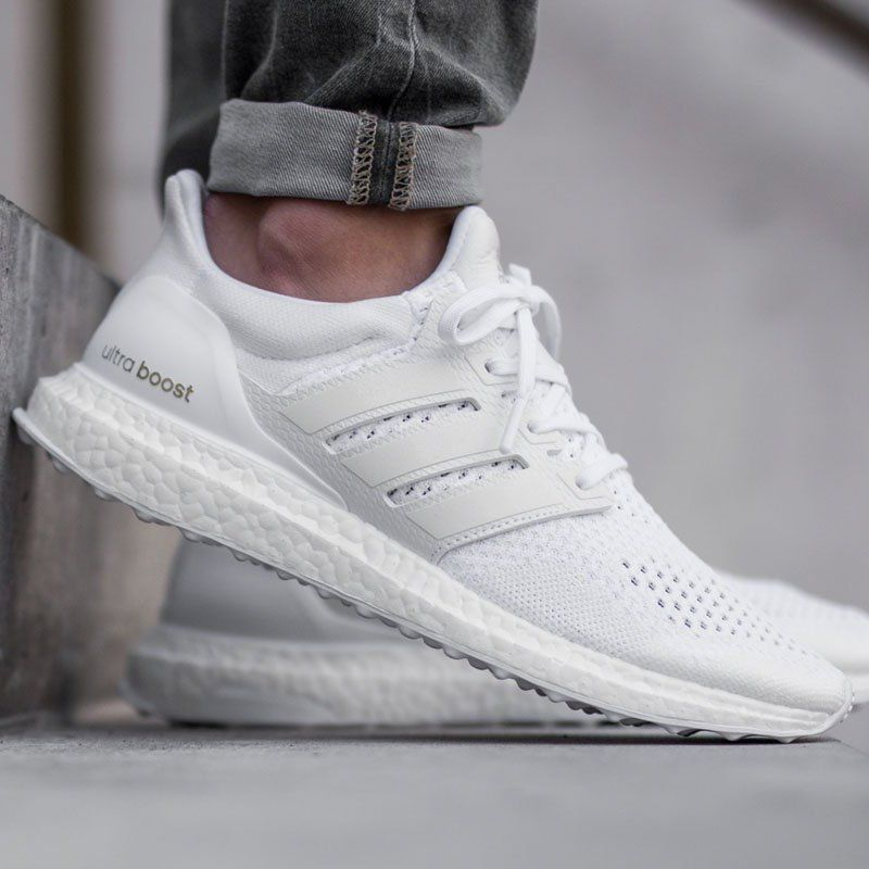 adidas ultra boost white hombre