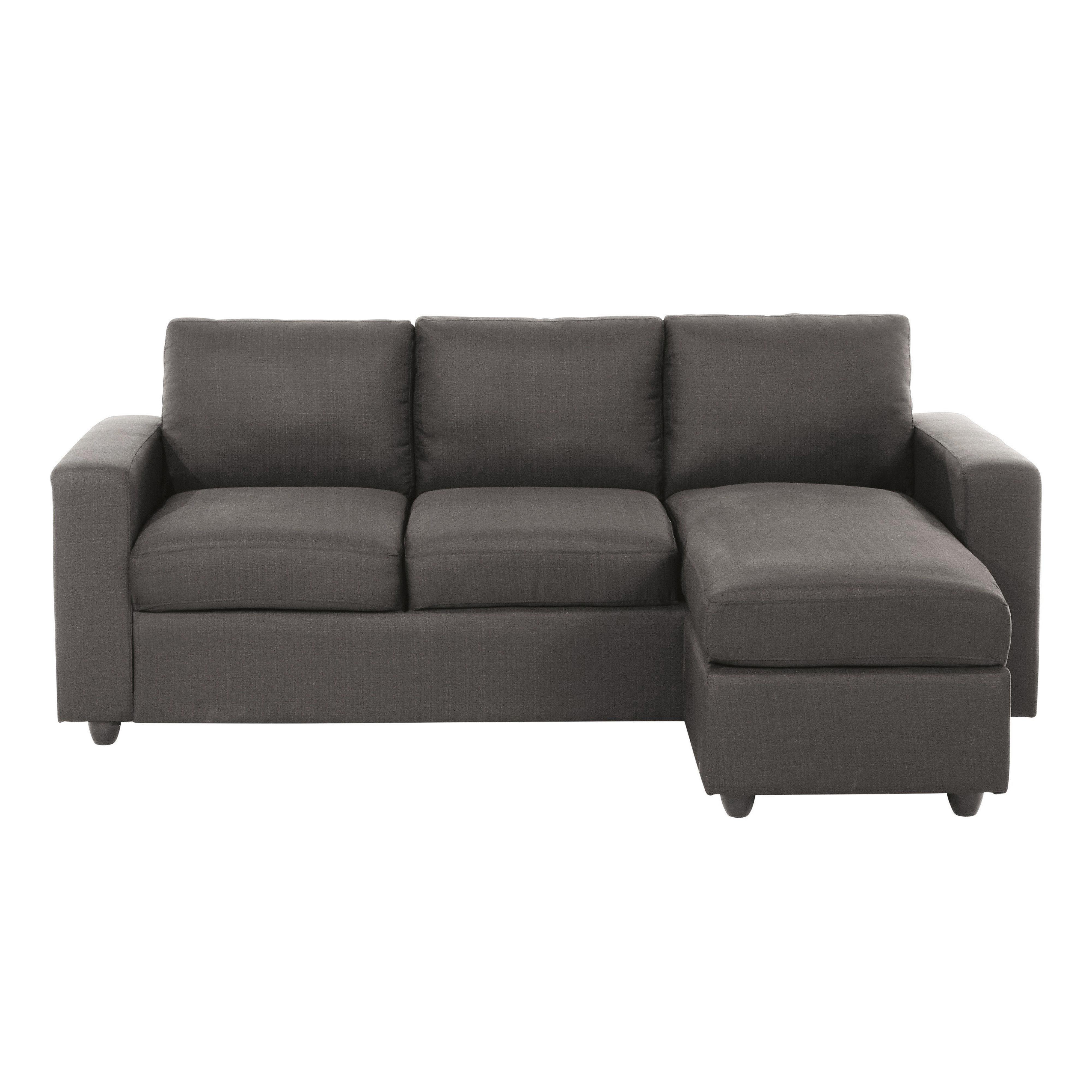 Sof esquinero modular de 3 plazas gris corner colonial for Sofa modular tela