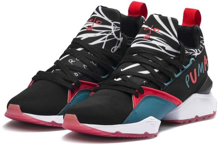 5640f6aa63ca PUMA x SHANTELL MARTIN Muse Maia Graphic Women s Sneakers ...