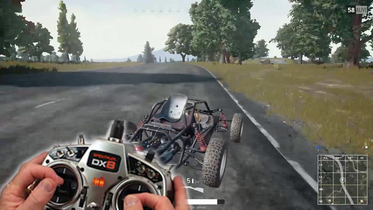 My second way with Playerunknown's Battlegrounds! (X-post from r/PUBattlegrounds)