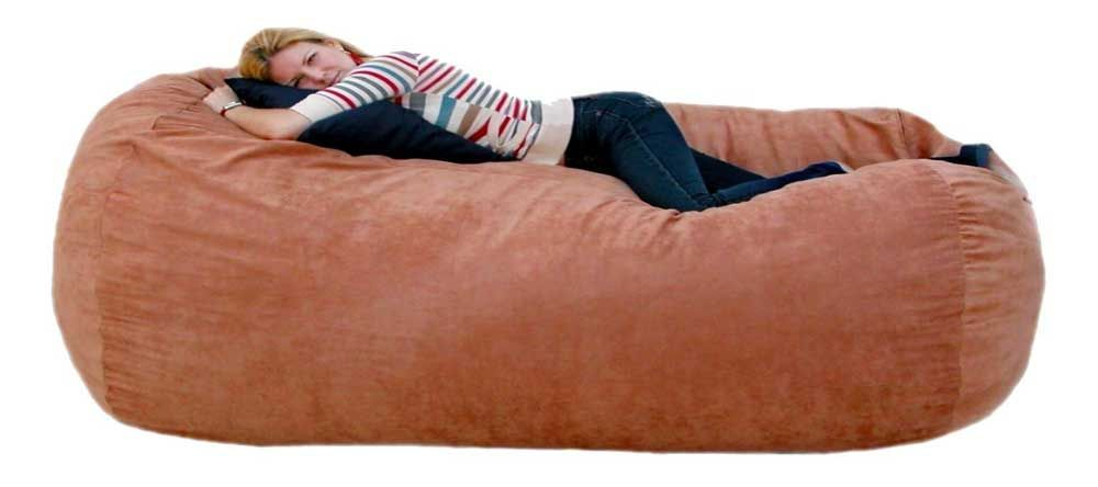 Cozy Sack Extra Large Foam Bean Bag Chair Bed