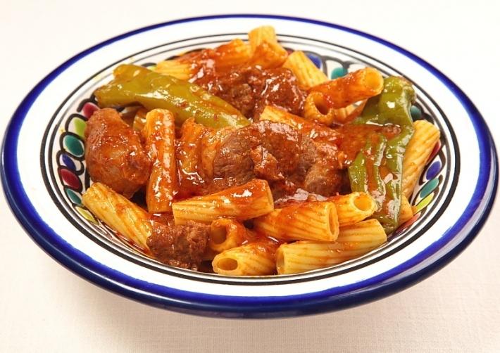 Recette makarouna bel allouch macaronis la viande d - Cuisine tunisienne ramadan ...