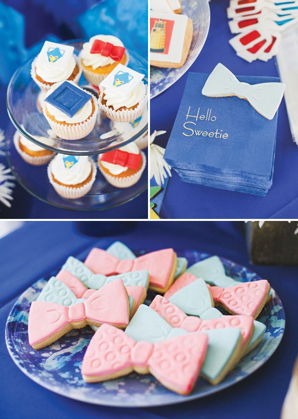 fantastic doctor who themed baby shower