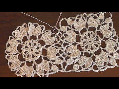 Crochet Knitting Lace Motif Models Aime aimer et m'abonner à mes vidéos  – motifler