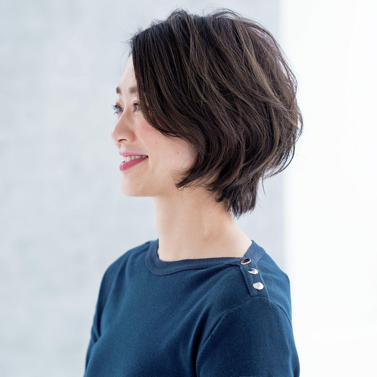 富岡佳子 ブレンダも登場 大人のための2019年春ヘアスタイル