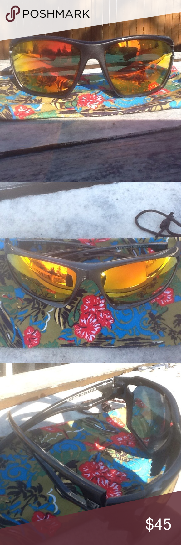 abb77791d0 Variant🕶Deuce Sunglasses NWOT 💯% UV Protection