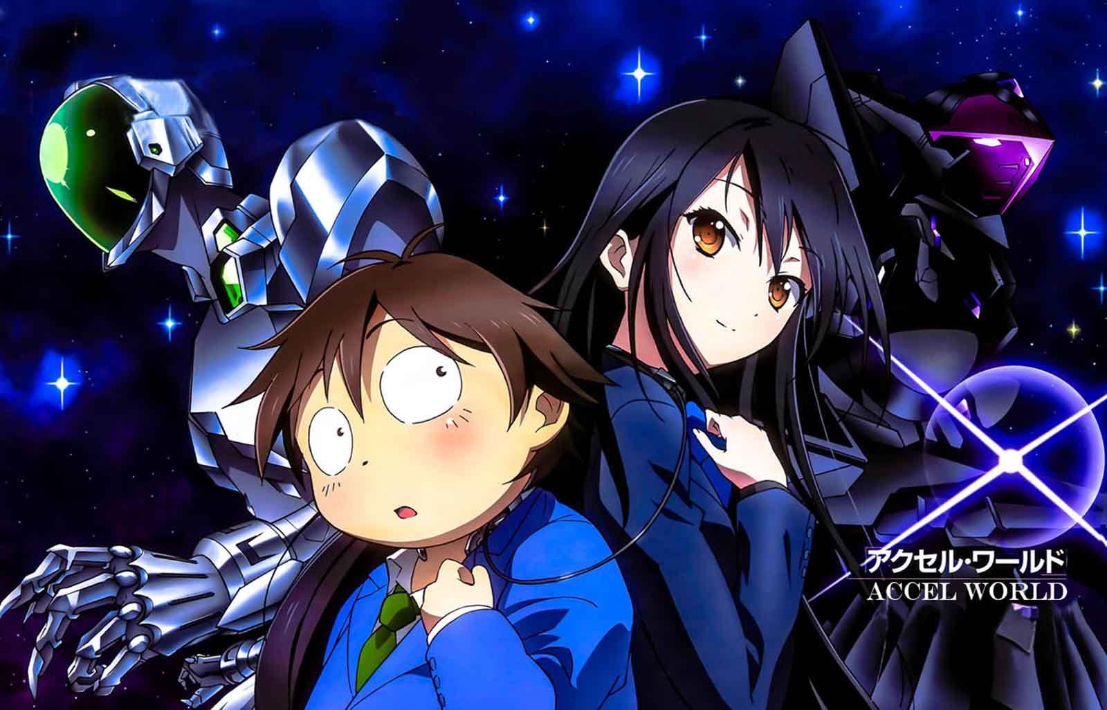 Haru and kuryukihime from accel world Anime, Anime films