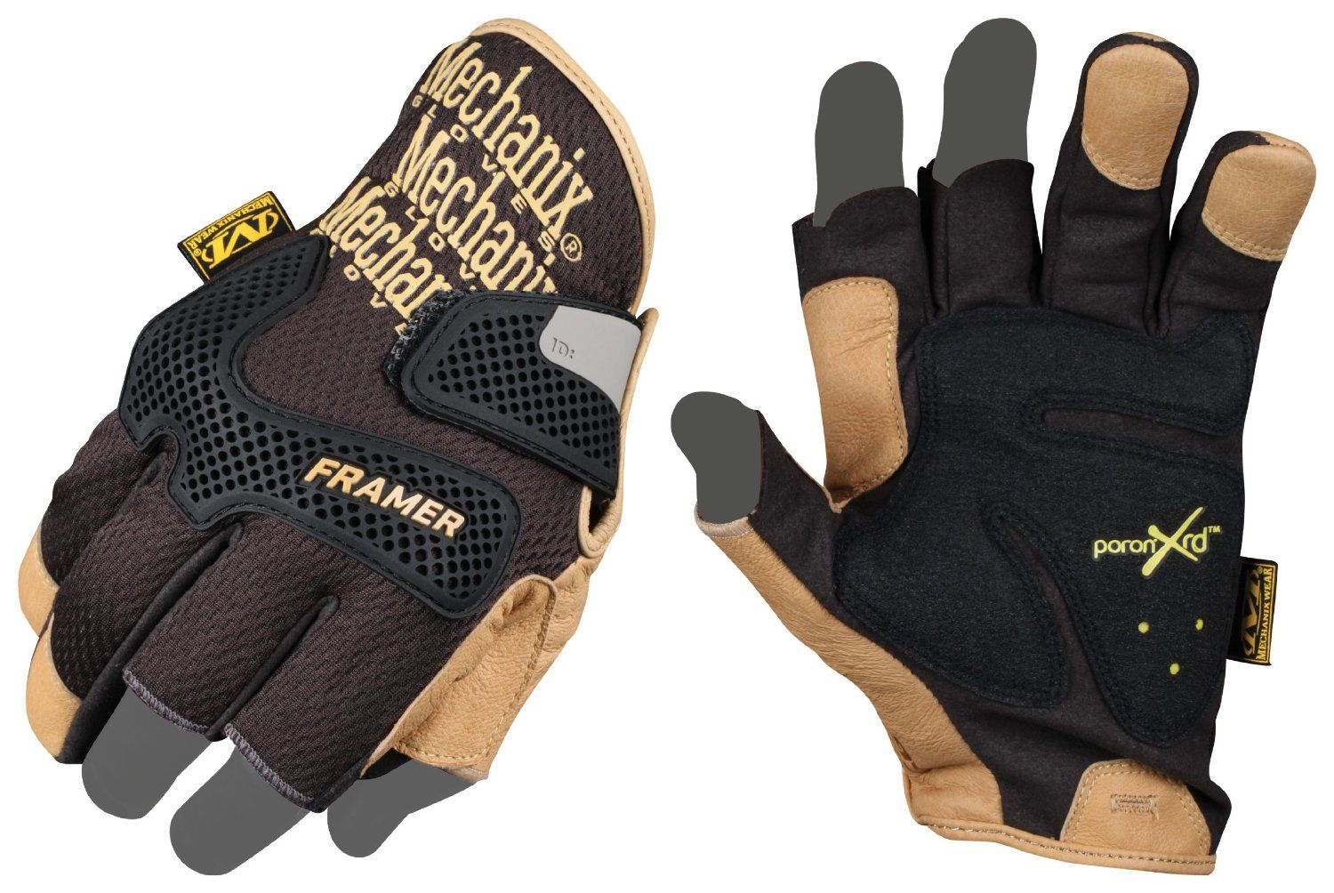 Offers your hand protection while trekking, building, or