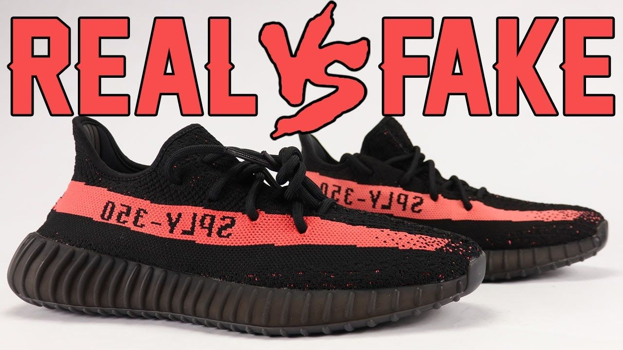 Video: Real vs Fake adidas Yeezy Boost 350 V2 Black White. Make sure to  Subscribe http://www.sneakerfiles.com | Womens Sneakers | Pinterest