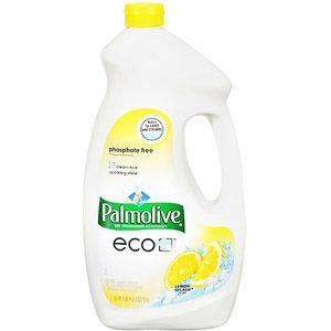Palmolive Eco Gel Dishwasher Detergent Lemon Splash 75 Fluid Ounce Walmart Com Gel Dishwasher Detergent Dishwasher Detergent Best Dishwasher Detergent