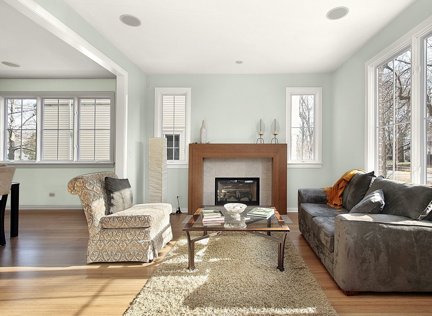 living room in glacier lake living room colors popular on lake house interior color schemes id=85579