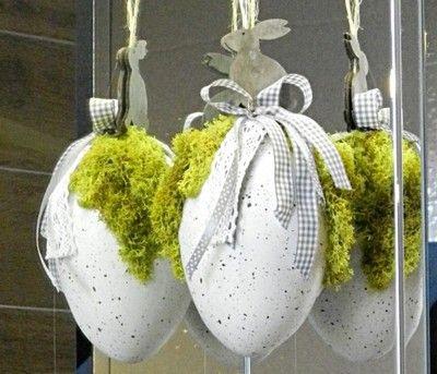 Jajka Pisanki Jajko Wielkanoc Zawieszka Na Okno 6756805911 Oficjalne Archiwum Allegro Easter Window Decorations Window Decor Christmas Bulbs