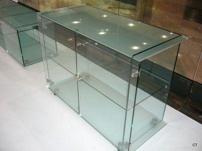Gentil Glass Display Table