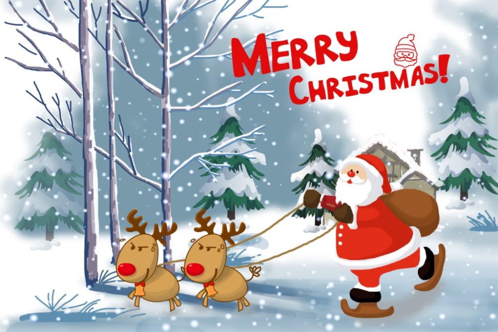 Merry Christmas Images and Happy New Year 2020