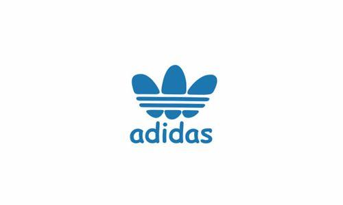 The Comic Sans Series of Famous Corporate Logos - Logos Comic Sans Adidas