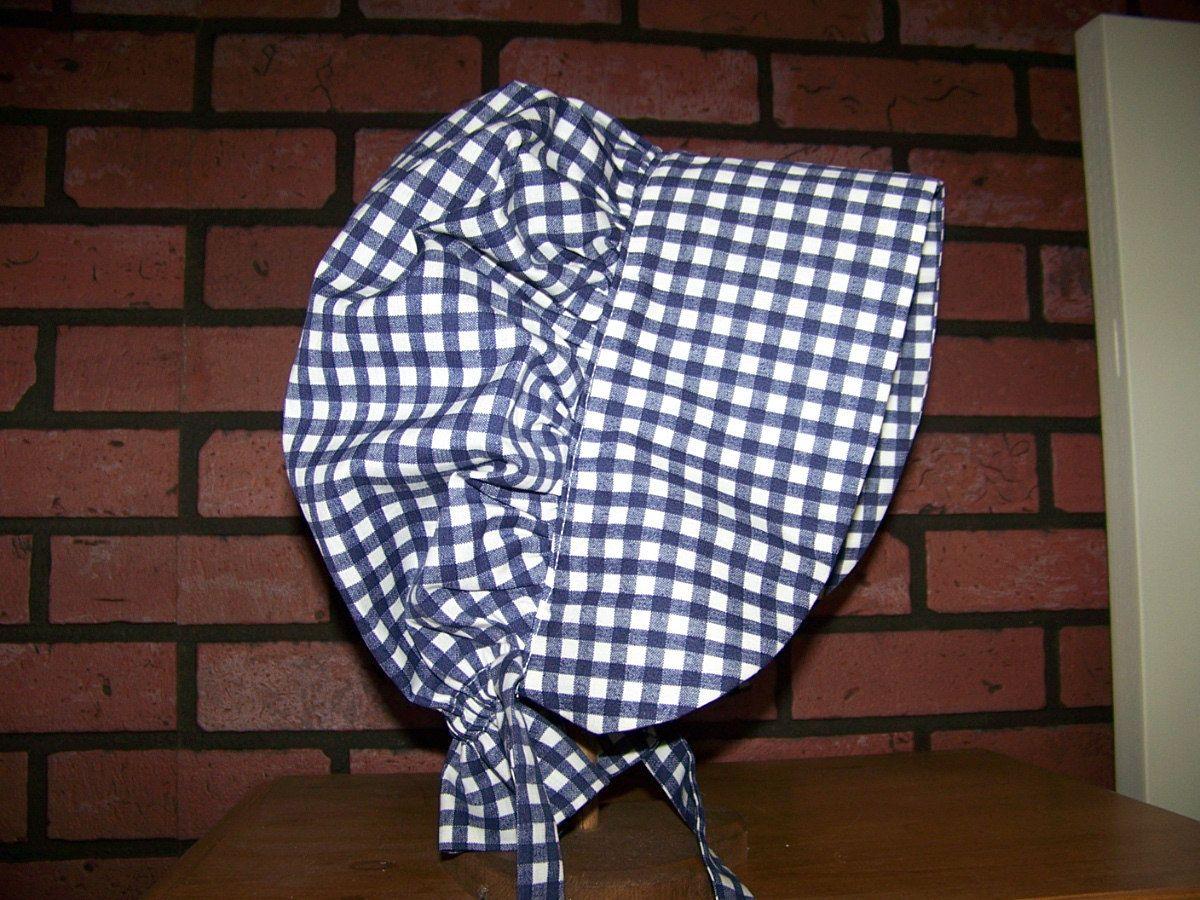 child\'s amish bonnet pattern free - Google Search | Bonnet | Pinterest