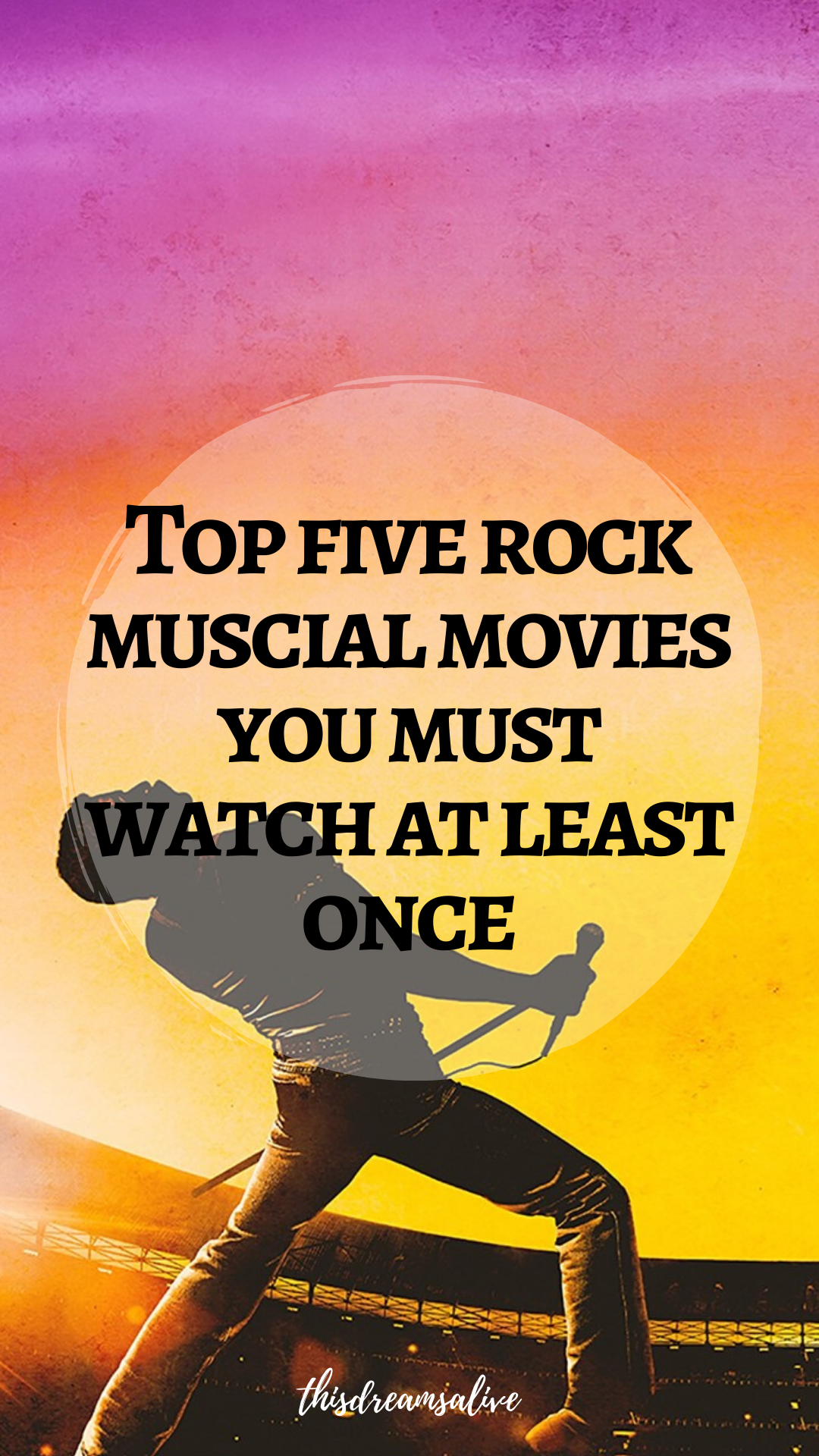Top Five Rock Musical Movies Musical Movies Movies Musicals
