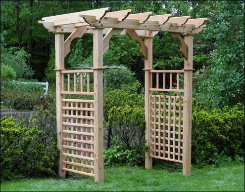 Create A Beautiful Entryway With A Handcrafted Wood Arbor Or Arbor Kits,  Fifthroom Has A Huge Selection Of Modern Outdoor And Indoor Furniture
