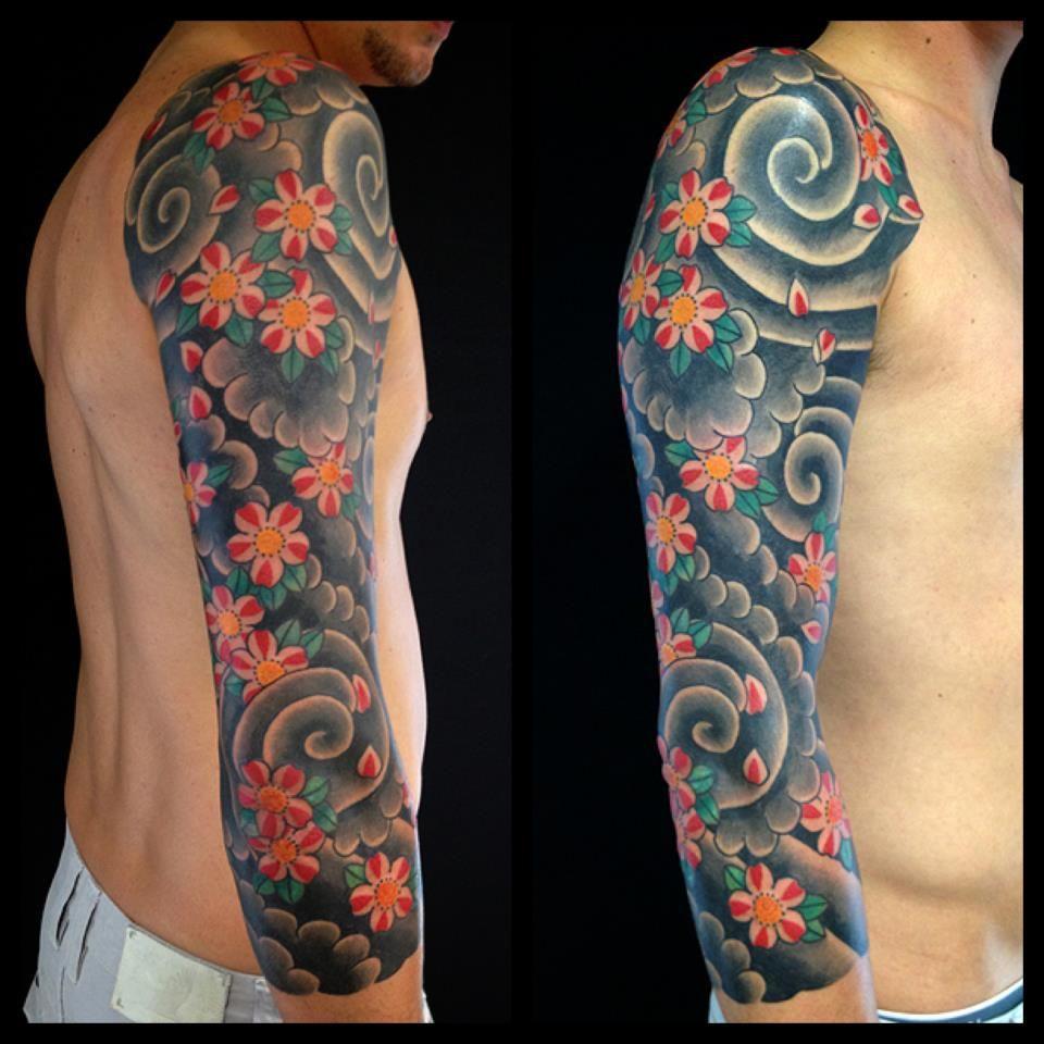 Tatuaggi Giapponesi Fiori