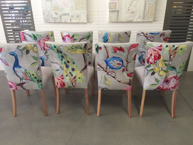Jimmy Possum Fave Funky Chairs Boho Dining Chairs Fabric Dining Room