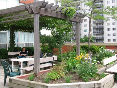 Jardines En Terrazas Terrazas Y Balcones Pinterest