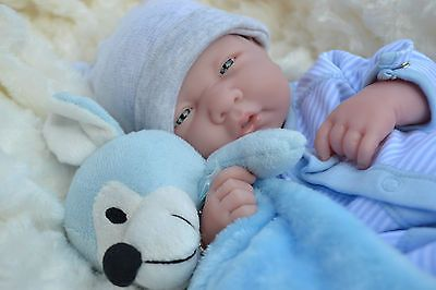 REALISTIC LIFELIKE DOLL  ❤️  BERENGUER LA NEWBORN REAL BABY BOY REBORN PLAY
