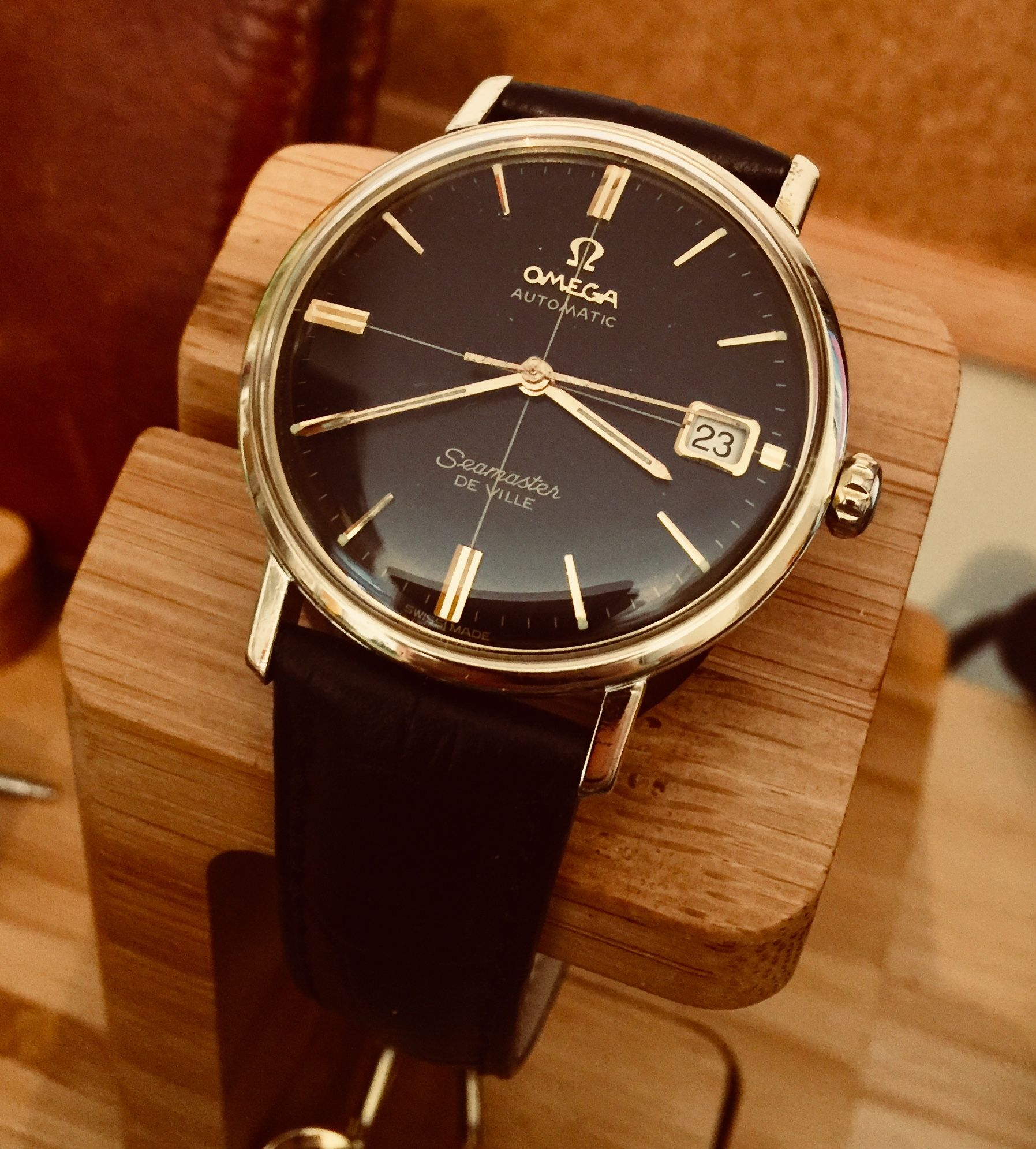 Omega men's Seamaster De Ville vintage watch #vintagewatches