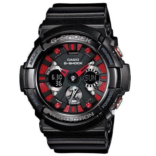 """UNITIME """"Expertos en relojes"""" - CASIO GA-200SH-1ADR BLACK modelo by UNITIMEARGENTINA"""