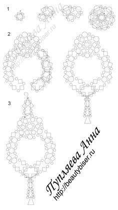 FREE Earrings Pattern from BEAUTY BISER. Use: seed beads