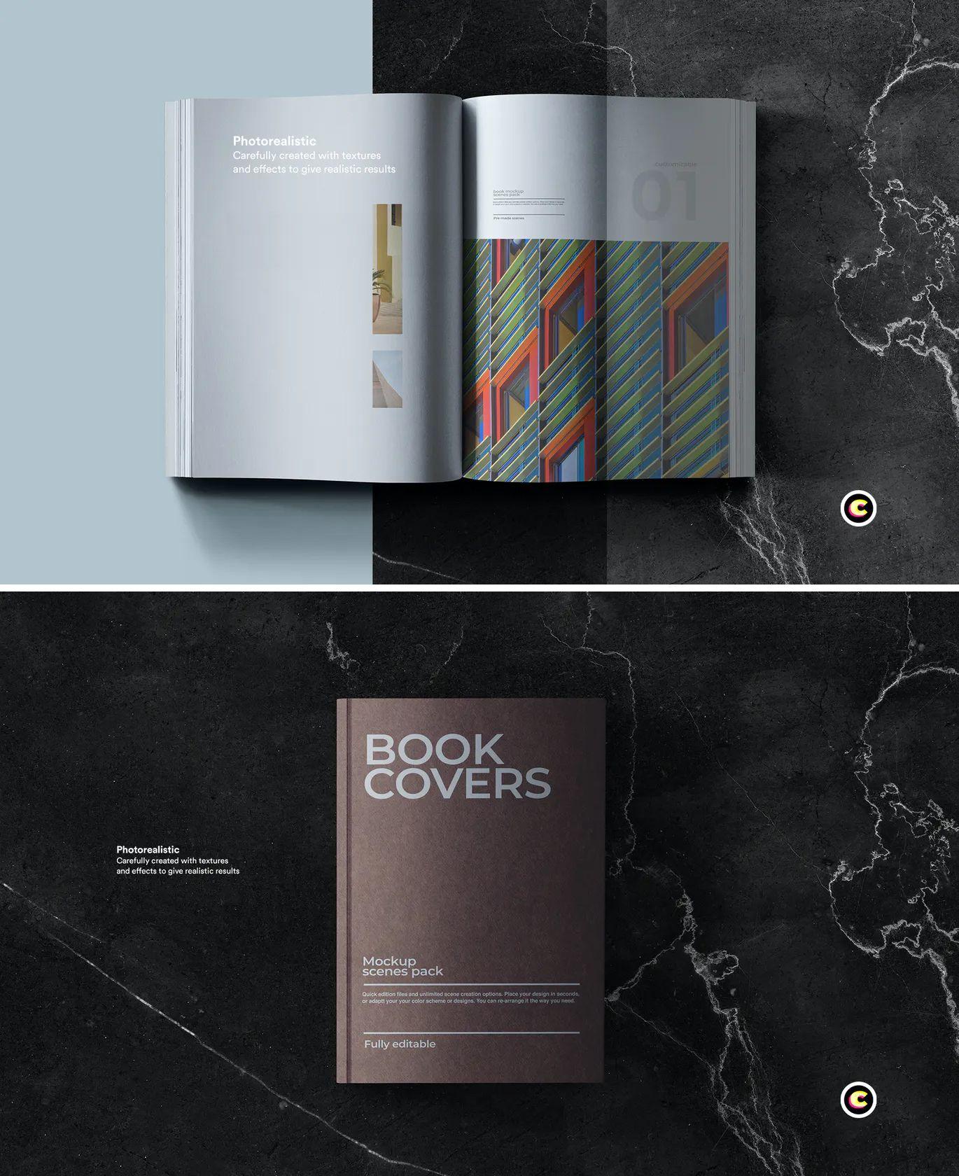 Book Mock Up Psd 06 Psd Files Books Design Template Mockup